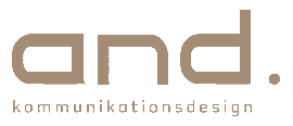 Logo and. Kommunikationsdesign